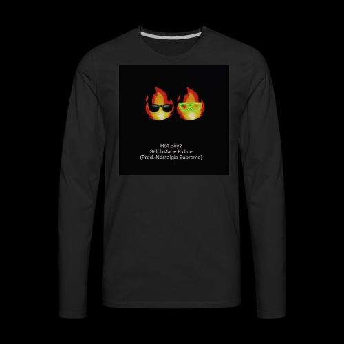 KIDICE HOTBOYZ cover art - Men's Premium Long Sleeve T-Shirt