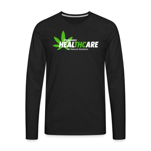 THC Healthcare 420 T-Shirt - Men's Premium Long Sleeve T-Shirt