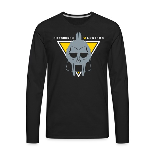 pgh_warriors - Men's Premium Long Sleeve T-Shirt