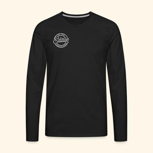 Edition Logo (White) - Men's Premium Long Sleeve T-Shirt