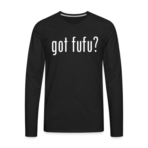 got fufu Women Tie Dye Tee - Pink / White - Men's Premium Long Sleeve T-Shirt