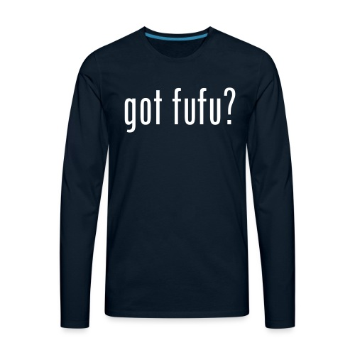 got fufu Women Tie Dye Tee - Pink / White - Men's Premium Long Sleeve T-Shirt
