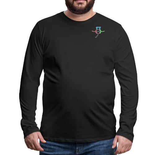 GF3 Logo - Men's Premium Long Sleeve T-Shirt