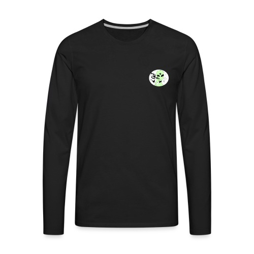 BASJAM Spaced Out - Men's Premium Long Sleeve T-Shirt