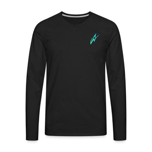 AW Studios Small Logo - Men's Premium Long Sleeve T-Shirt