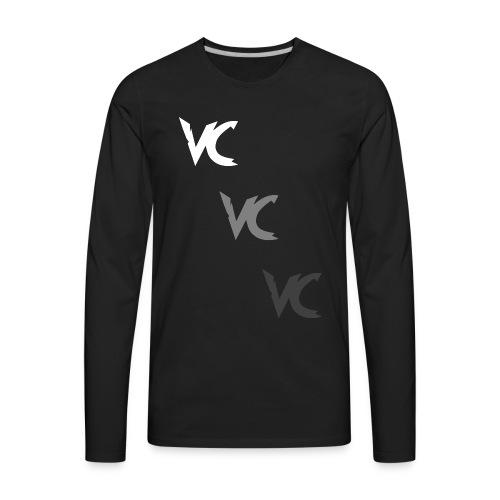 V3L0C1TY Logo Mugs & Drinkware - Men's Premium Long Sleeve T-Shirt