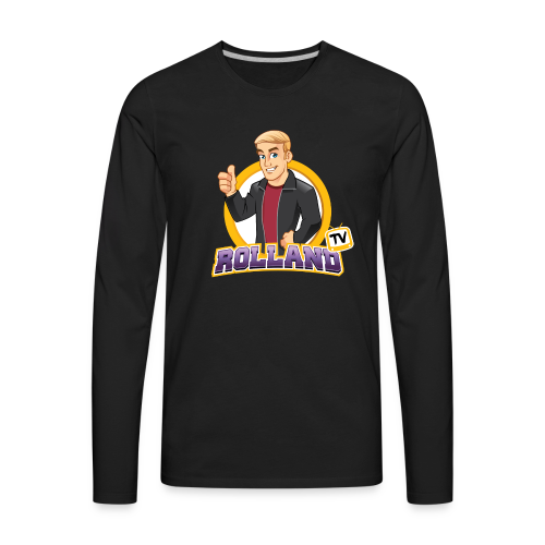 RollandTV - Men's Premium Long Sleeve T-Shirt