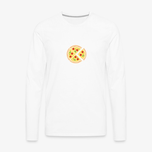 Do It For The Pizza - Men's Premium Long Sleeve T-Shirt