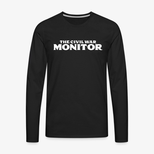 CWM LOGO WHITE - Men's Premium Long Sleeve T-Shirt