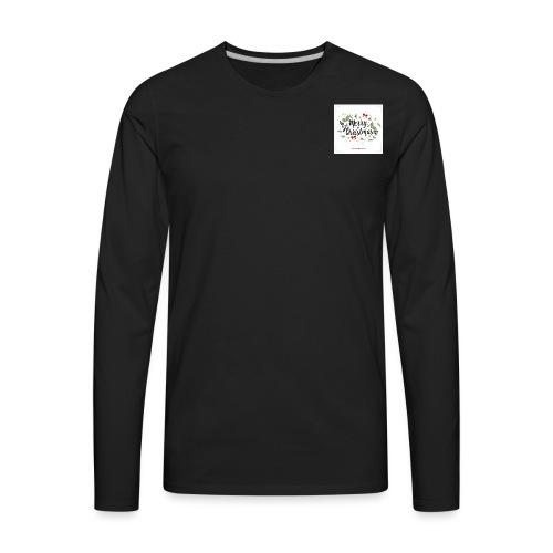 merry christmas stuff - Men's Premium Long Sleeve T-Shirt
