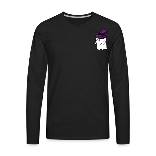 Little Ghost - Men's Premium Long Sleeve T-Shirt