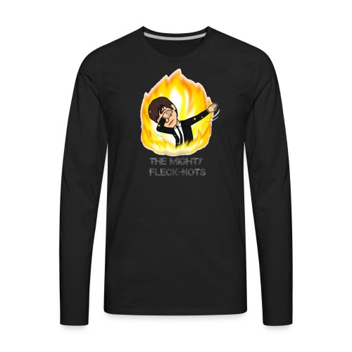 the mighty Fleck Nots - Men's Premium Long Sleeve T-Shirt