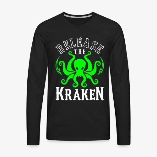 Release The Kraken - Men's Premium Long Sleeve T-Shirt