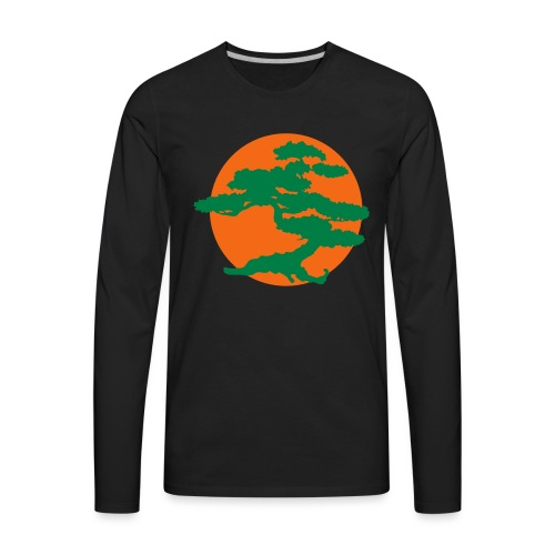 Bonsai Tree - Men's Premium Long Sleeve T-Shirt