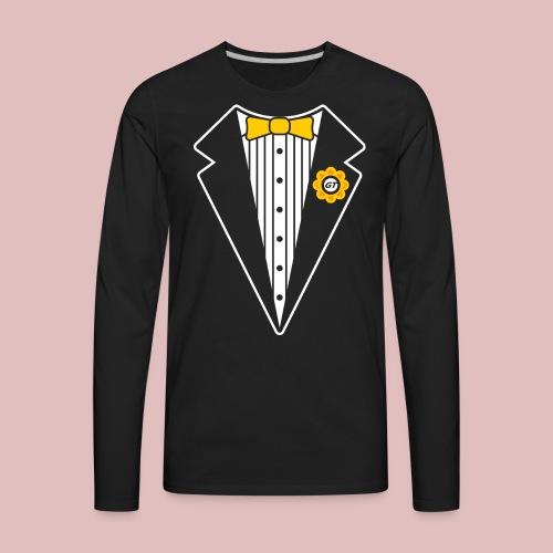 Keep It Classy Tux Shirt - Men's Premium Long Sleeve T-Shirt