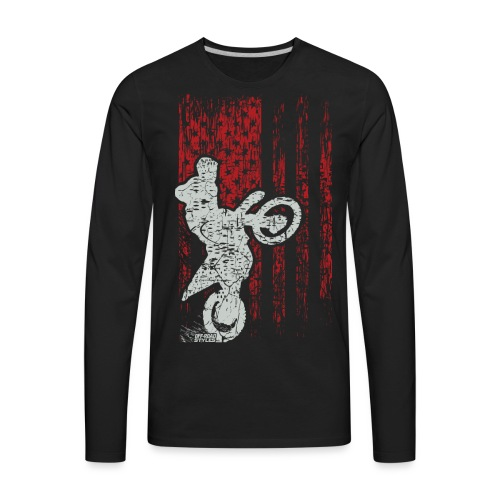 Supercross Stunt USA - Men's Premium Long Sleeve T-Shirt