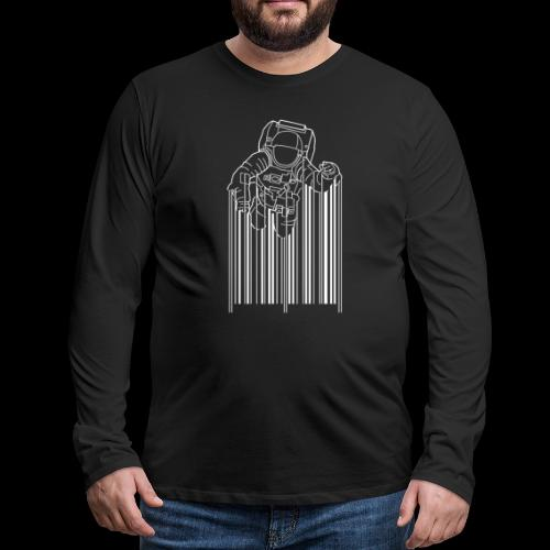 Scan Space - Men's Premium Long Sleeve T-Shirt