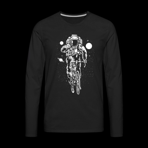 Space Cyclist - Men's Premium Long Sleeve T-Shirt