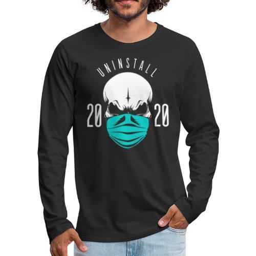 uninstall 2020 - Men's Premium Long Sleeve T-Shirt