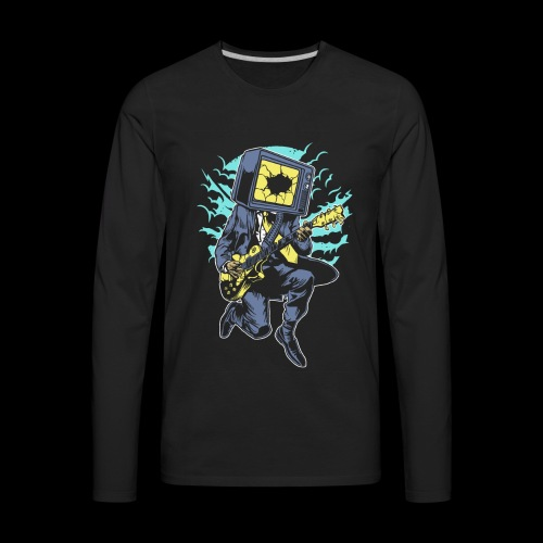 Played Out TV Rockstar - Men's Premium Long Sleeve T-Shirt