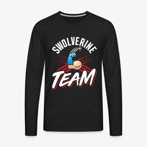 Swolverine Team - Men's Premium Long Sleeve T-Shirt