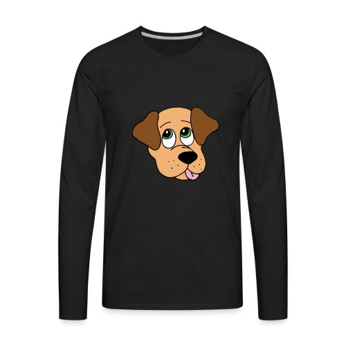 Puppy Love - Men's Premium Long Sleeve T-Shirt