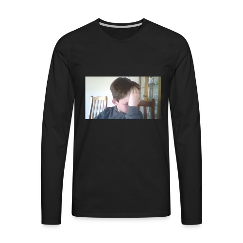 Luiz FAce!! - Men's Premium Long Sleeve T-Shirt