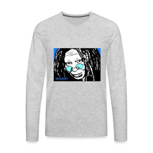 WHOOPI - Men's Premium Long Sleeve T-Shirt