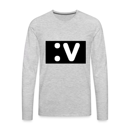 LBV side face Merch - Men's Premium Long Sleeve T-Shirt
