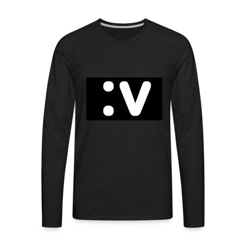LBV side face Merch - Men's Premium Long Sleeve T-Shirt