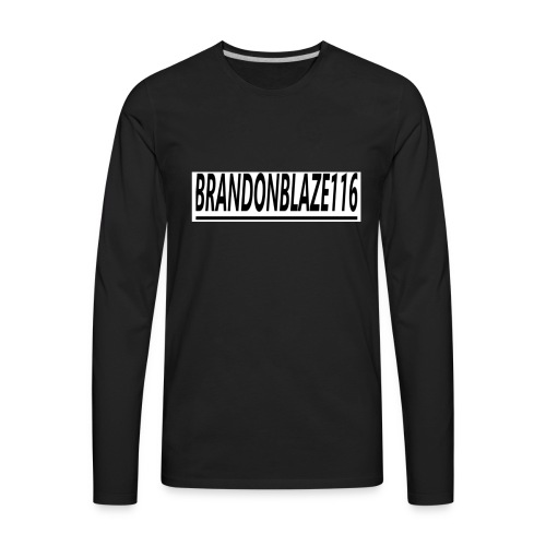 Brandonblaze116 Merchandise - Men's Premium Long Sleeve T-Shirt