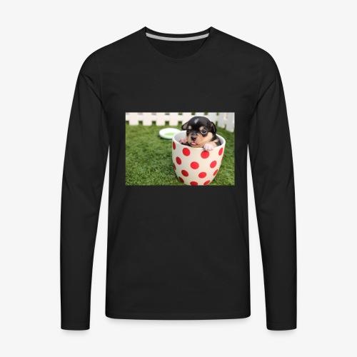 chihuahua dog - Men's Premium Long Sleeve T-Shirt