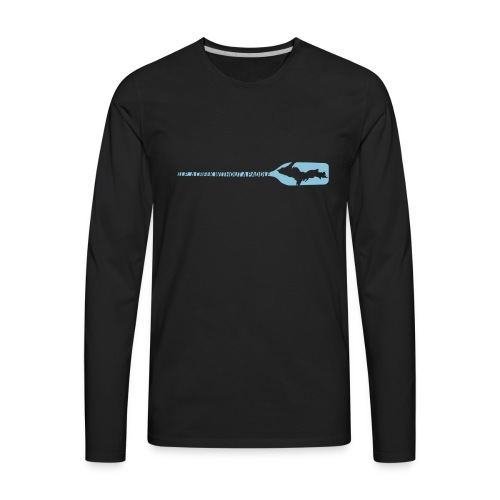 U.P. a Creek - Men's Premium Long Sleeve T-Shirt
