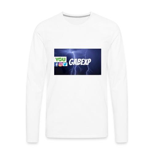 gabexp 1 - Men's Premium Long Sleeve T-Shirt