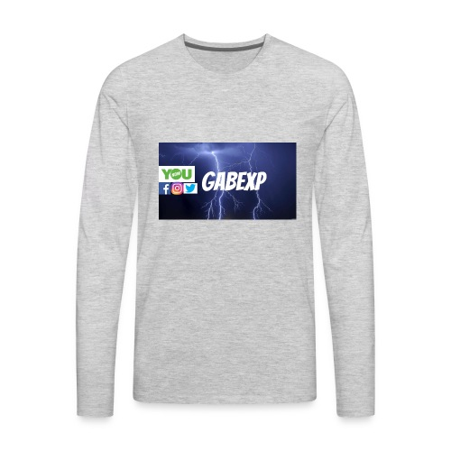 gabexp 1 - Men's Premium Long Sleeve T-Shirt