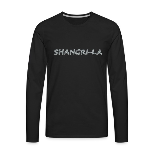 Shangri La silver - Men's Premium Long Sleeve T-Shirt
