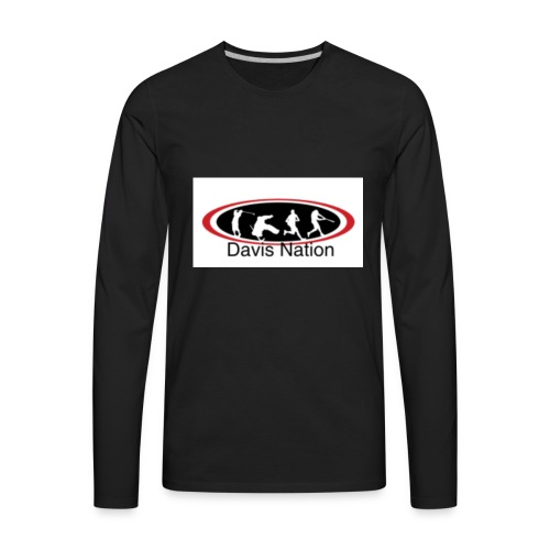 Davis Nation - Men's Premium Long Sleeve T-Shirt