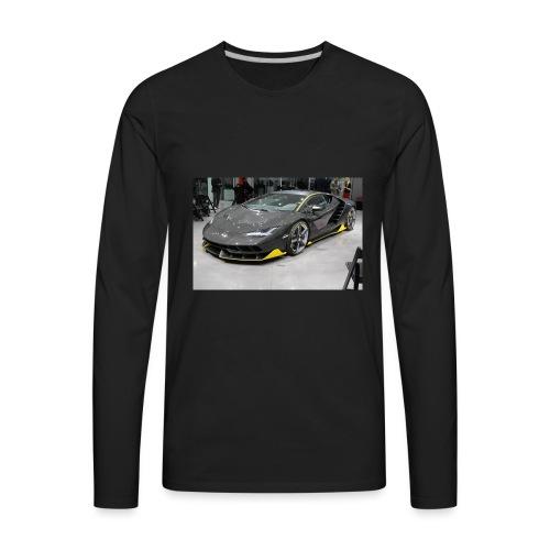 Lamborghini Centenario front three quarter e146585 - Men's Premium Long Sleeve T-Shirt