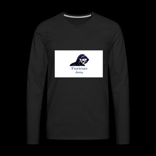 savage hoddie - Men's Premium Long Sleeve T-Shirt