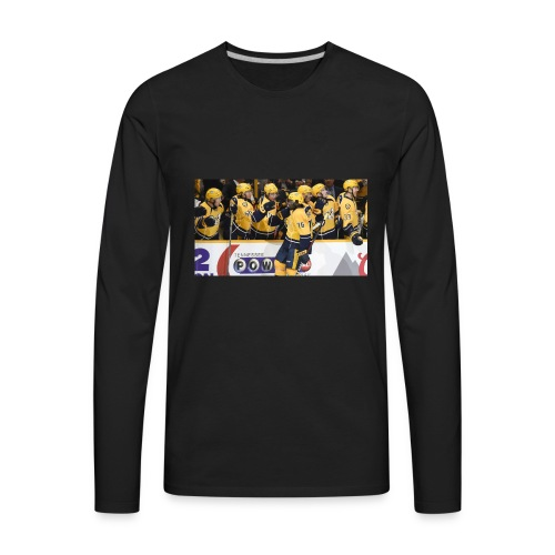 subban pk 2 - Men's Premium Long Sleeve T-Shirt