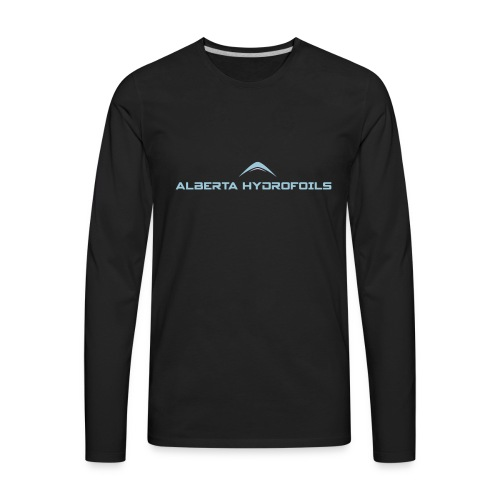 Alberta Hydrofoils - Basics - Men's Premium Long Sleeve T-Shirt