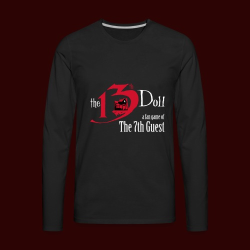 The 13th Doll Logo - Men's Premium Long Sleeve T-Shirt
