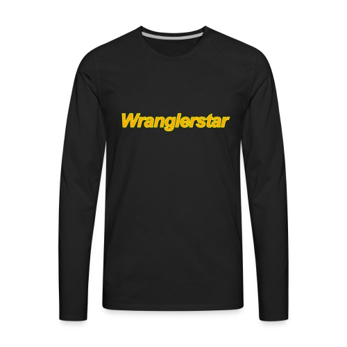 wrangler2 - Men's Premium Long Sleeve T-Shirt