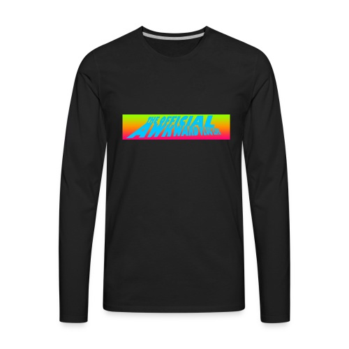 AWKWARD VLOG LIFE DESIGN - Men's Premium Long Sleeve T-Shirt