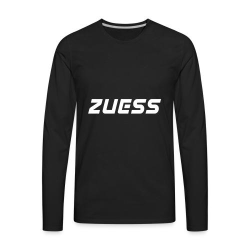 Zuess logo shirt - Men's Premium Long Sleeve T-Shirt