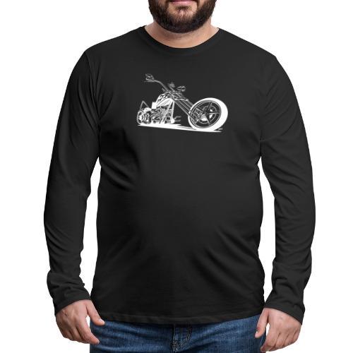 Custom American Chopper Motorcycle - Men's Premium Long Sleeve T-Shirt