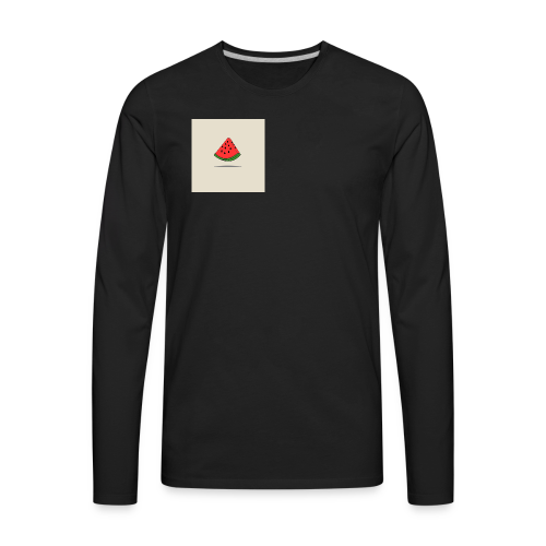 Coastal Watermelon - Men's Premium Long Sleeve T-Shirt