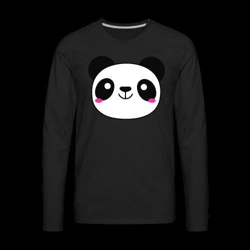Panda Smiling Special Gift - Men's Premium Long Sleeve T-Shirt