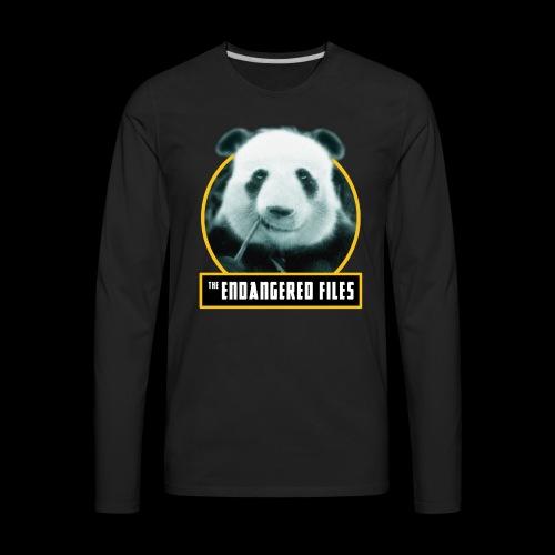 THE ENDANGERED FILES - Men's Premium Long Sleeve T-Shirt