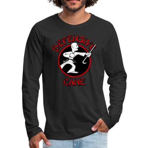 Defensive Cane - Men's Premium Long Sleeve T-Shirt